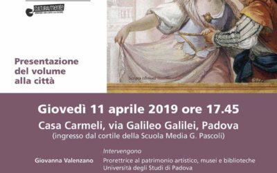 Presentazione Affreschi nei Palazzi di Padova